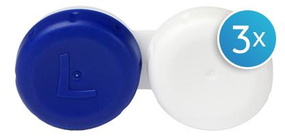 Étuis à lentilles de contact - Pack de 3