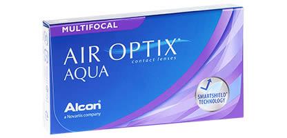 Air Optix Aqua Multifocal Lentilles de Contact