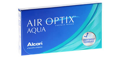 Air Optix Aqua - Pack de 3 Lentilles de Contact