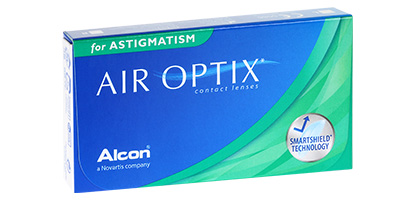 Air Optix for Astigmatism - Pack de 3 Lentilles de Contact