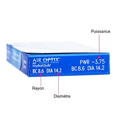 Air Optix Plus HydraGlyde - Pack de 6