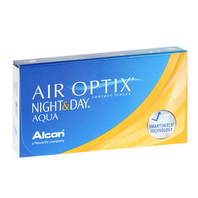 Air Optix Night & Day Aqua - Pack de 6