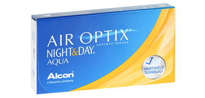 Air Optix Night & Day Aqua - Pack de 3