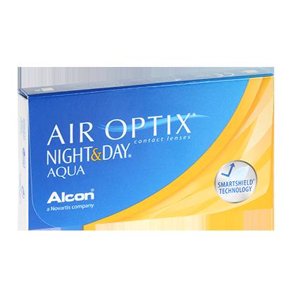 Air Optix Night & Day Aqua - Pack de 3