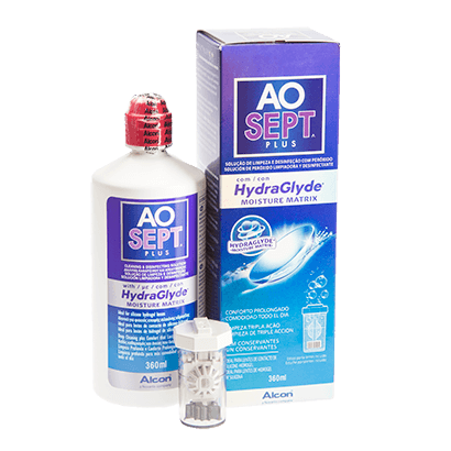 AOsept Plus HydraGlyde - 360ml