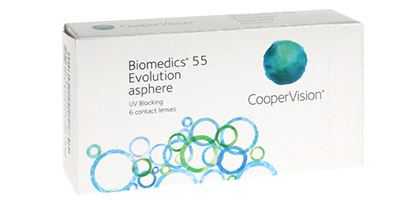 Biomedics 55 Evolution  - Pack de 6