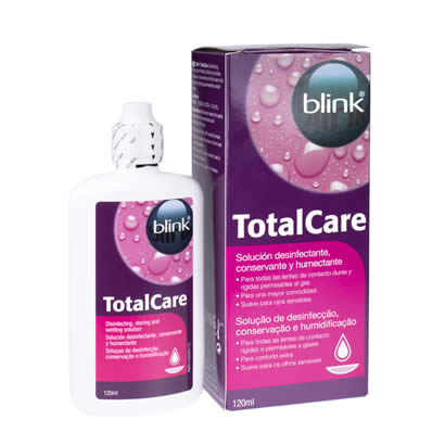 Blink Total Care Disinfecting - Décontamination