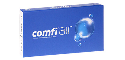 comfi Air - Silicone hydrogel - Pack de 3 Lentilles de Contact