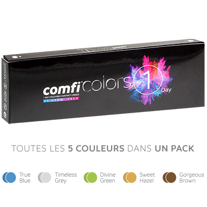 comfi Colors 1 Day - Pack Rainbow