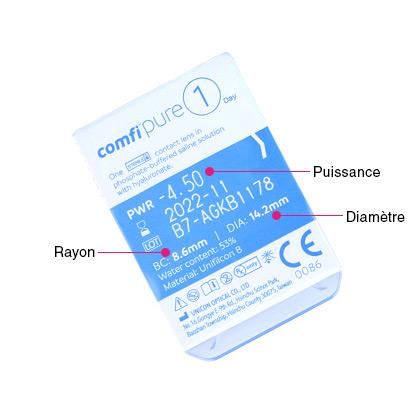 comfi Pure 1 Day - Pack de 5