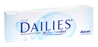 Focus Dailies All Day Comfort 30 Lentilles de Contact