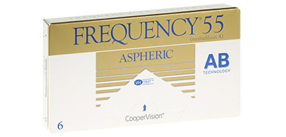 Frequency 55 Aspheric - Pack de 6