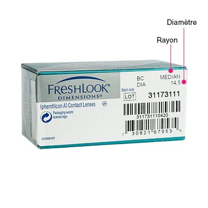 Freshlook Dimensions - Pack de 2