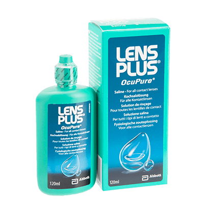 Lens Plus Ocupure Saline - 120ml