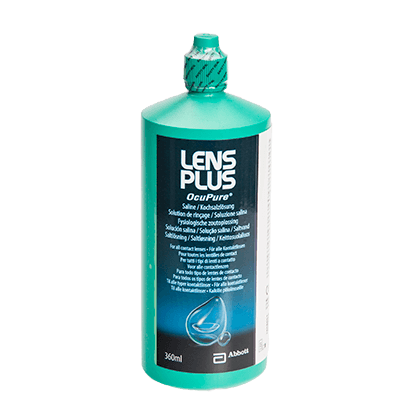Lens Plus Ocupure Saline - 360ml
