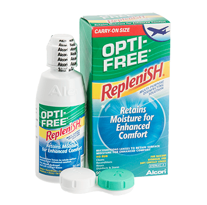 Opti-Free Replenish - Format avion