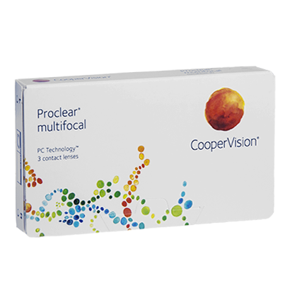 Proclear Multifocal - Pack de 3