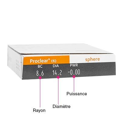 Proclear Sphere - Pack de 6