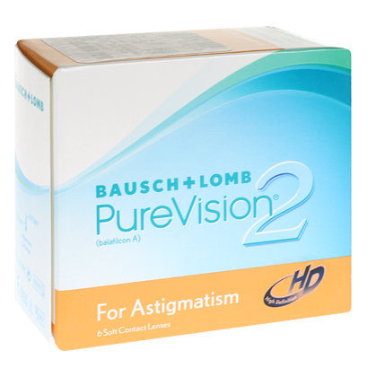 PureVision 2 HD for Astigmatism - Pack de 6