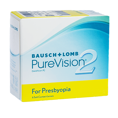 PureVision 2 HD for Presbyopia - Pack de 6