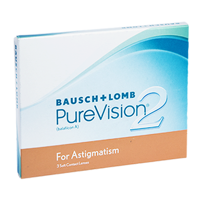 Purevision 2 HD for Astigmatism - Pack de 3