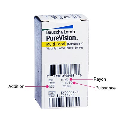 Purevision Multi-Focal - Pack de 3