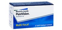 Purevision Multi-Focal - Pack de 3