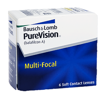 Purevision Multi-Focal - Pack de 6