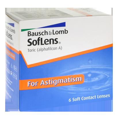 SofLens Toric - Pack de 6