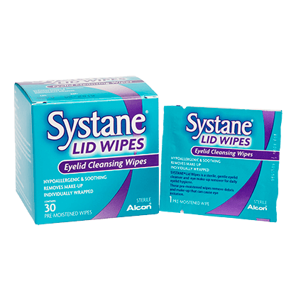 Systane Lid Wipes - Lingettes