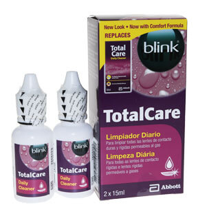 Blink Total Care Nettoyant - Flacon 15ml x2