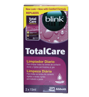 Blink Total Care Cleaner - Nettoyant 15ml x2