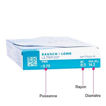 Bausch & Lomb Ultra - Pack de 6