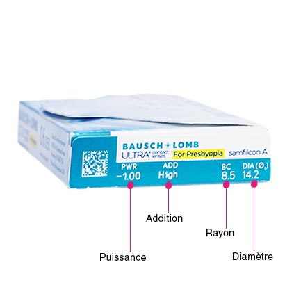 Bausch & Lomb Ultra for Presbyopia - Pack de 6